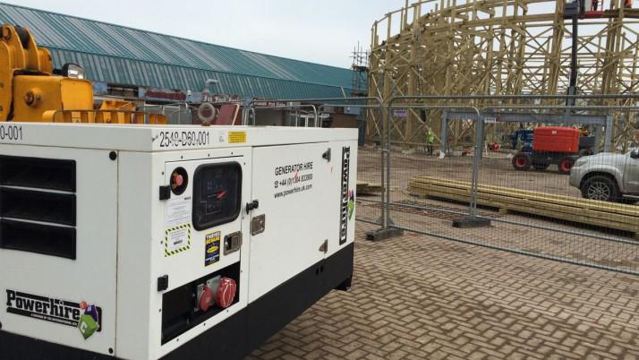Generator Hire for Iconic Pleasure Park
