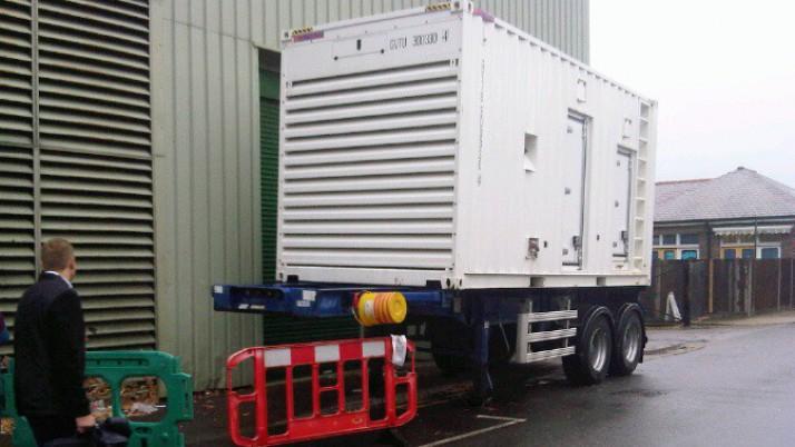 Temporary Generator for a London University Hospital