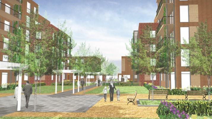 Generator Power supports Housing Development in London