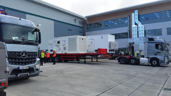 3MVA of Generator Power for New Fulfilment Facility