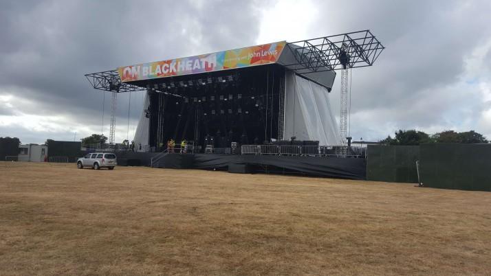Temporary Generators for OnBlackheath & OnRounday Festivals