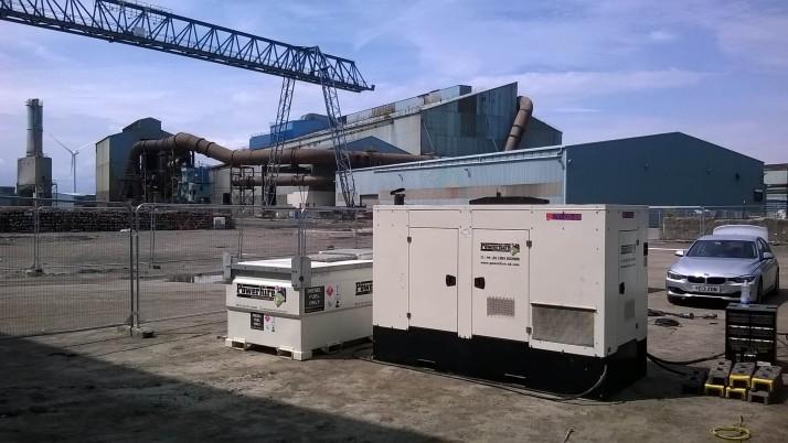 Generator Power for Steelworks Redevelopment
