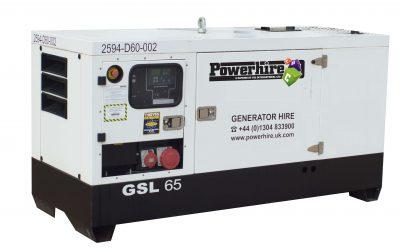 60kVA Generator Hire – Pramac